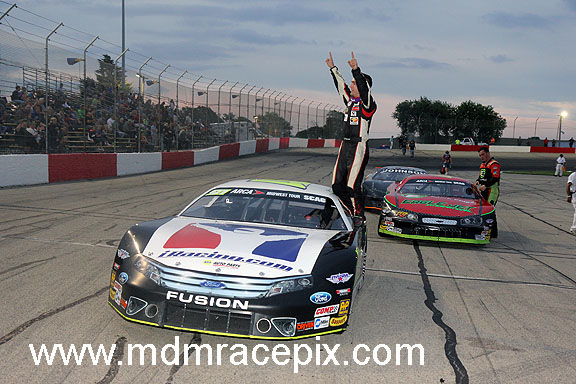 Majeski Outruns Mother Nature in ARCAMT Victory