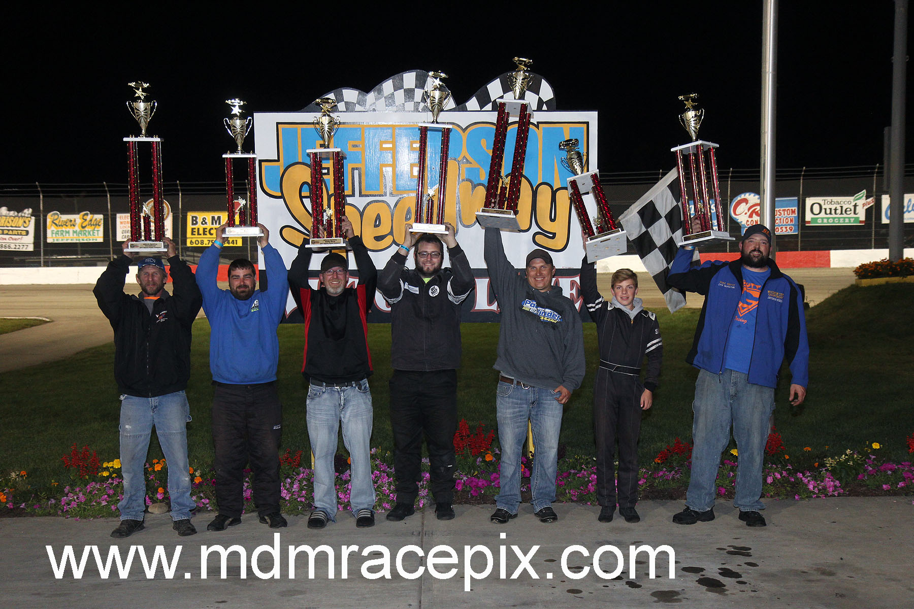 Champions Crowned at Jefferson Speedway