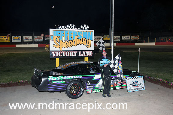 "Shafer ""Salutes the Troops"" With His First ARCAMT Win at Jefferson"